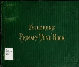Children's Primary Tune Book