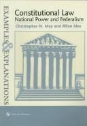 Download Constitutional law–national power and federalism
