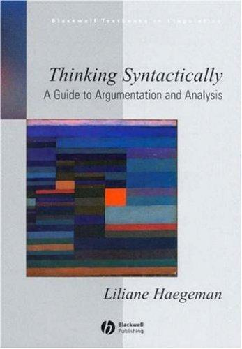 Download Thinking syntactically