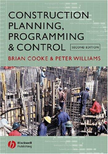 Construction planning, programming, and control