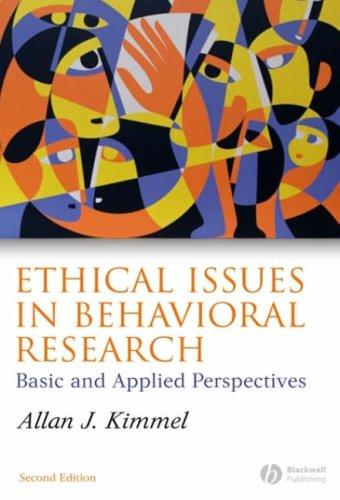Download Ethical Issues in Behavioral Research
