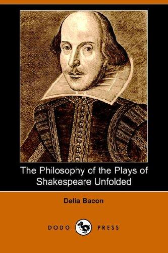 Download The Philosophy of the Plays of Shakespeare Unfolded