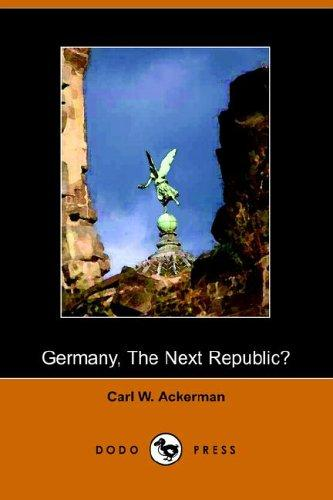 Download Germany, the Next Republic?