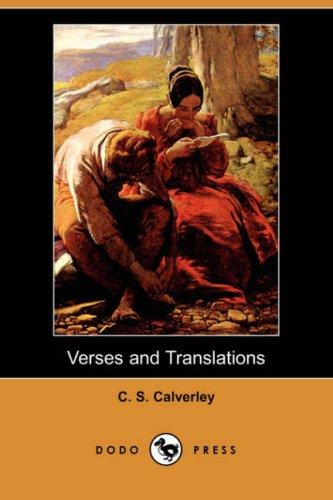 Download Verses and Translations (Dodo Press)