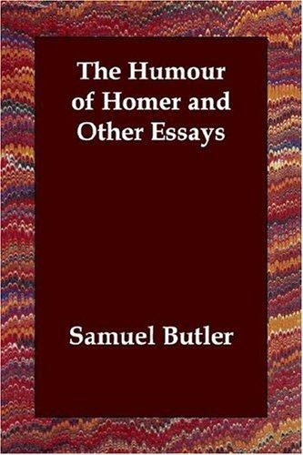 Download The Humour of Homer and Other Essays
