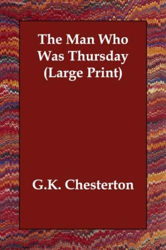 Download The Man Who Was Thursday (Large Print)
