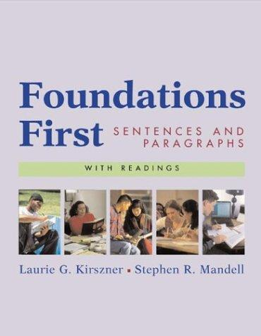 Download Foundations First with Readings