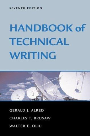 Download Handbook of technical writing