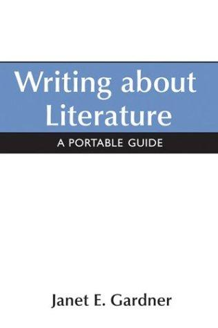 Download Writing About Literature