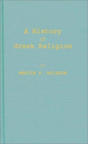 Download A history of Greek religion