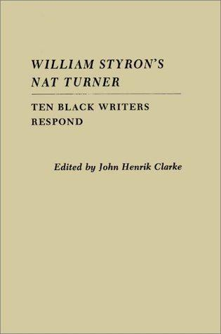 Download William Styron's Nat Turner
