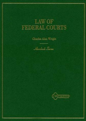 The law of federal courts
