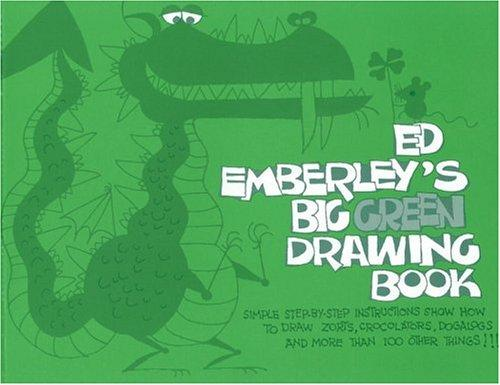 Download Ed Emberley's Big green drawing book.