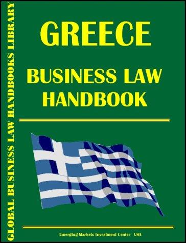 Download Greece Business Law Handbook