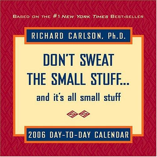 Download Don't Sweat the Small Stuff… and It's All Small Stuff