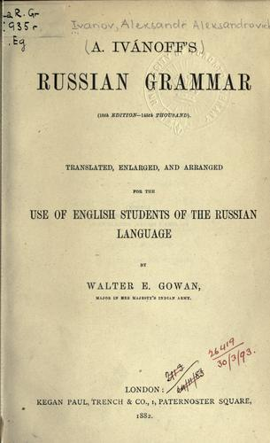Download Russian grammar