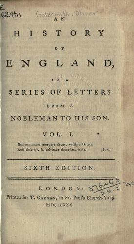 Download An history of England