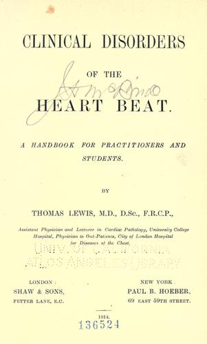 Download Clinical disorders of the heart beat