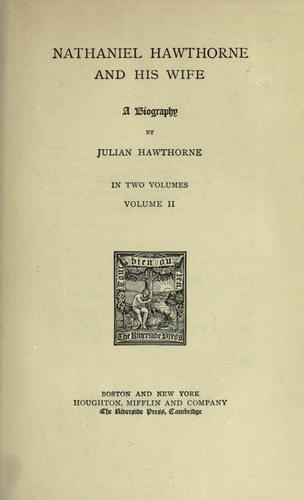 Download Nathaniel Hawthorne and his wife