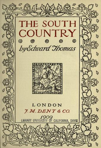 Download The south country