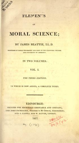 Download Elements of moral science