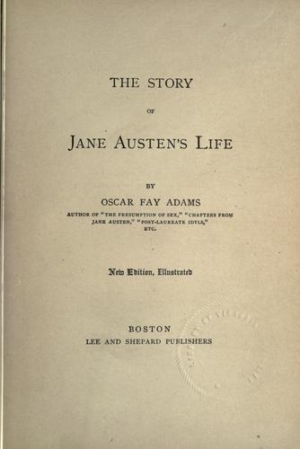 Download The story of Jane Austen's life.