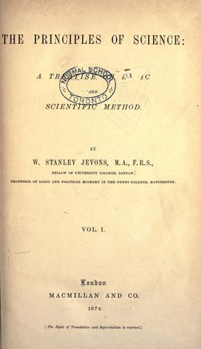 Download The principles of science