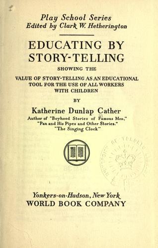Download Educating by story-telling