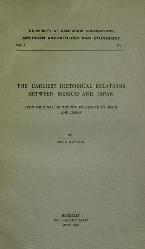 Download The earliest historical relations between Mexico and Japan