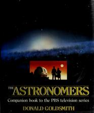Cover of: The astronomers | Donald Goldsmith
