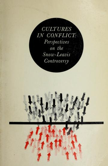 Cultures in conflict by David Krause Cornelius