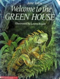 Cover of: Welcome to the green house | Jane Yolen
