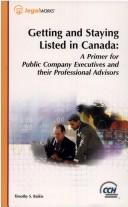 Getting and staying listed in Canada by Timothy Sean Baikie