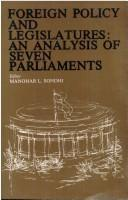 Foreign Policy and Legislatures by Manohar L. Sondhi