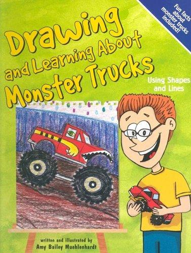 Drawing And Learning About Monster Trucks (Sketch It!) by Bob Temple