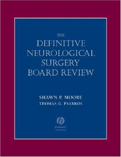 Image 0 of Definitive Neurological Surgery Board Review (Board Review Series)
