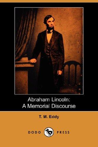 Abraham Lincoln by T. M. Eddy