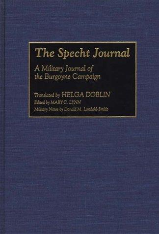 The Specht Journal by Helga Doblin