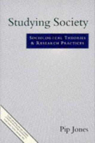 Studying Society by Philip Jones