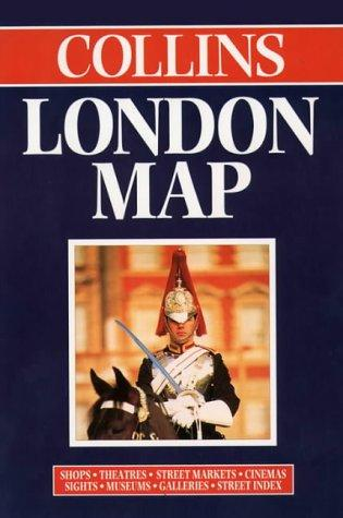 Collins London Map by England) Collins (Firm : London