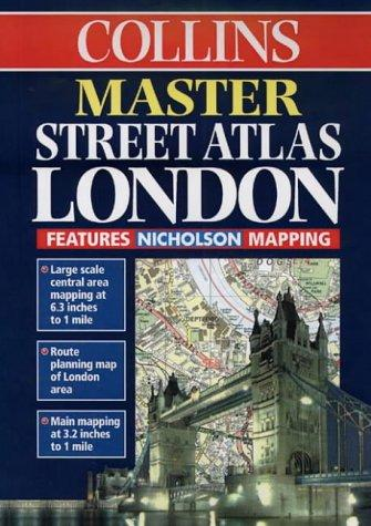 Master Street Atlas London by Mike Cottingham