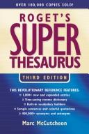 Roget's superthesaurus by Marc McCutcheon